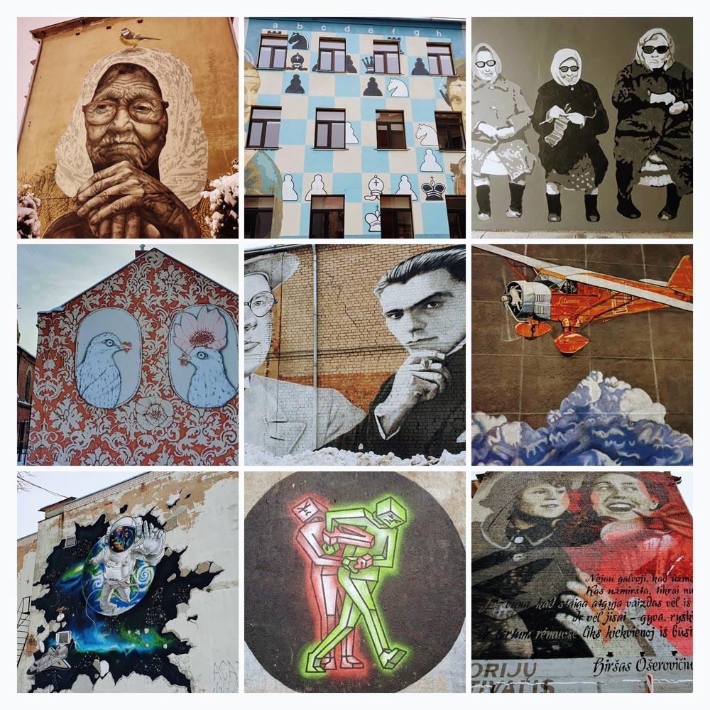 Street art in Kaunas - Gerve.lt
